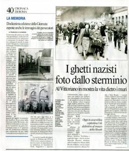 I ghetti nazisti foto dallo sterminio