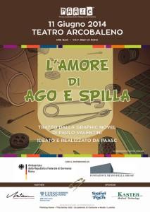"""Al teatro Arcobaleno va in scena """"L'Amore di Ago e Spilla"""""""