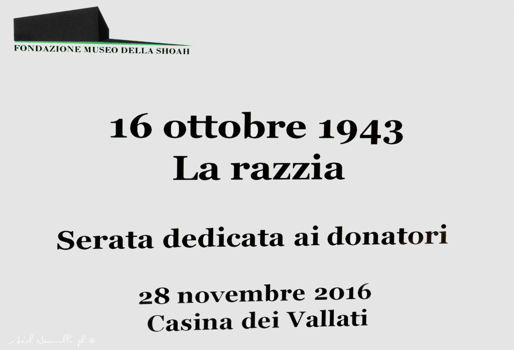 16 ottobre 1943 - La razzia