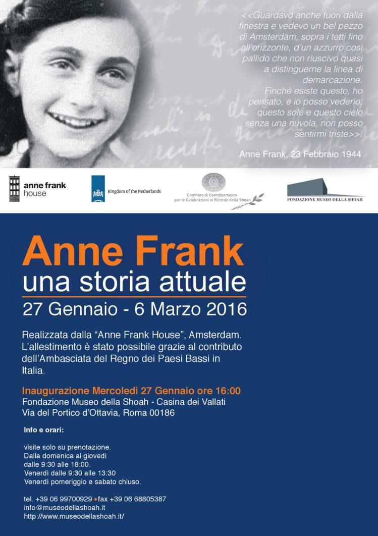Anna Frank. Una storia attuale