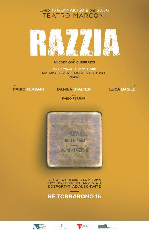 """Spettacolo teatrale """"RAZZIA"""""""