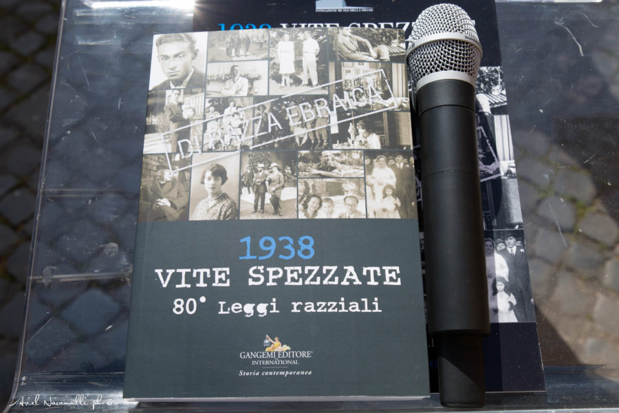 """Inaugurazione mostra """"1938 Vite spezzate"""""""